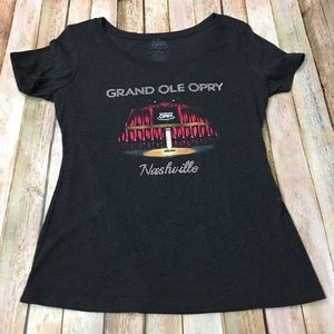 Grand Ole Opry Blinged Tee - Black - XL